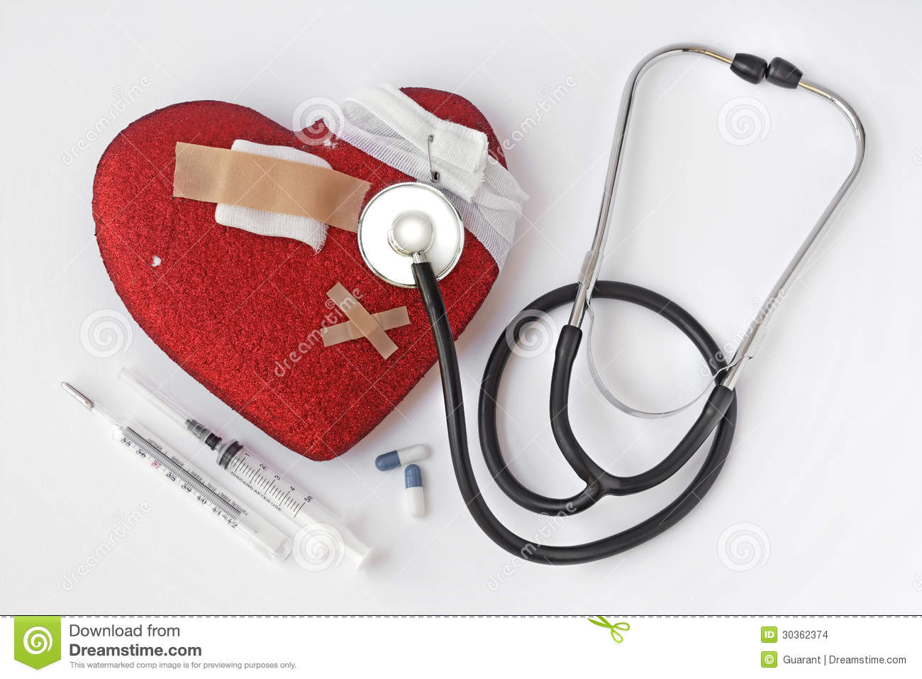 Heart Problems Stock Images Image 30362374