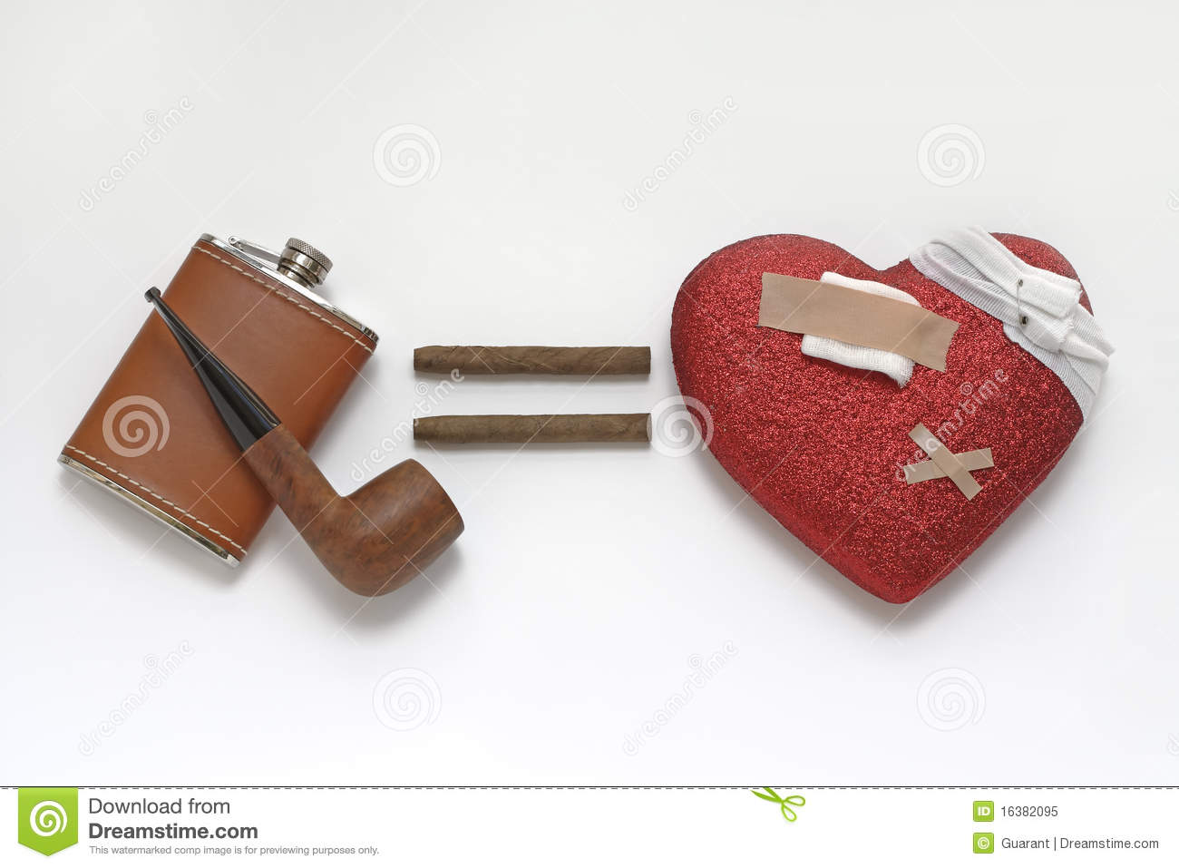 Heart problems resulting from alcohol and smoking