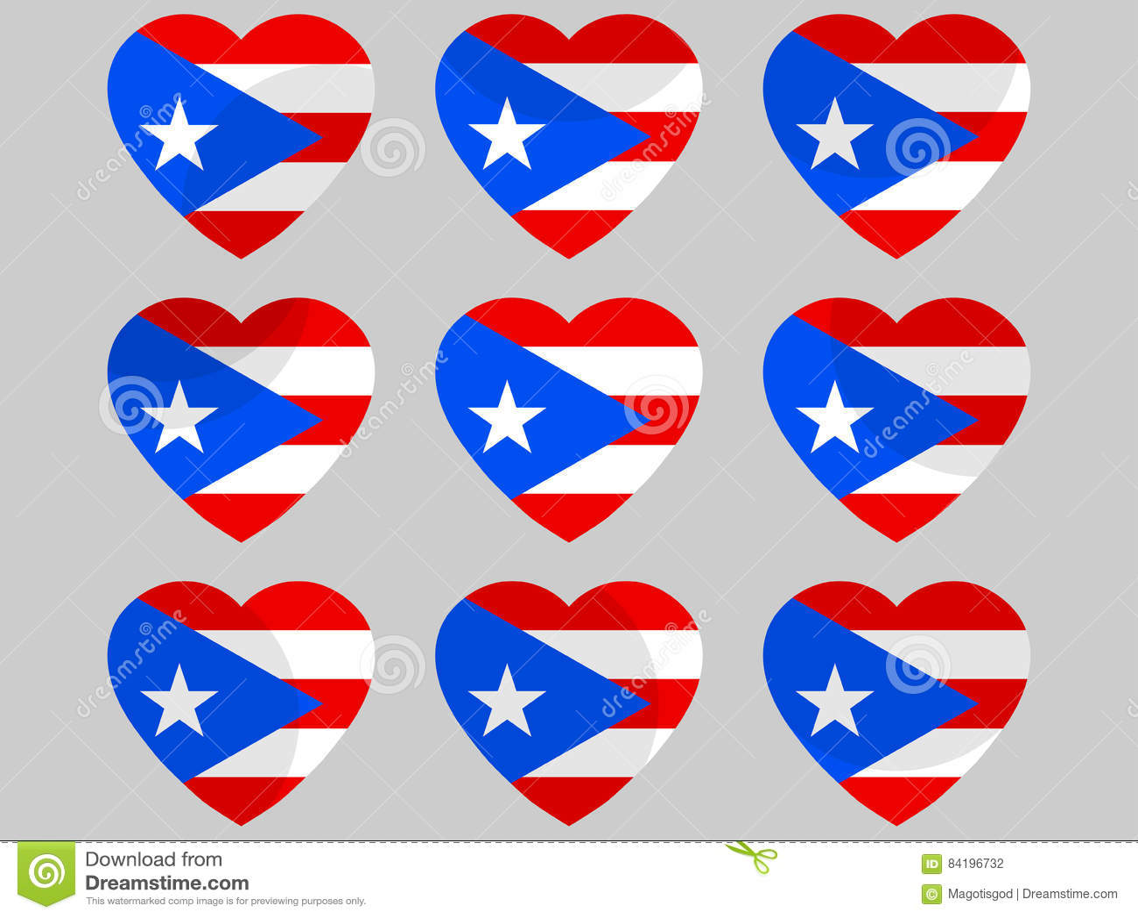 Heart with puerto rico flag i love puerto rico vector stock heart with puerto rico flag i love puerto rico vector buycottarizona