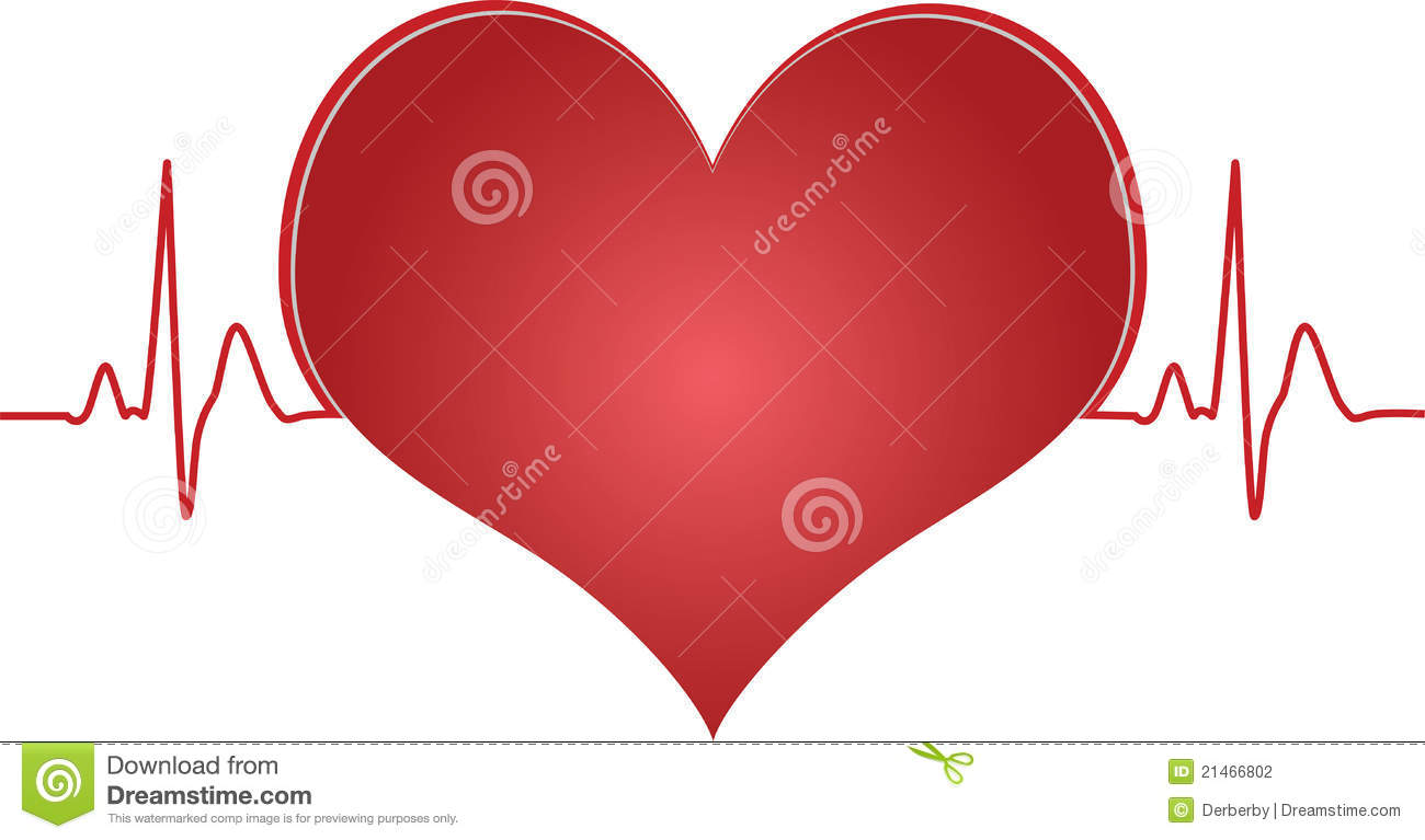 Heart Pulse Stock Photography - Image: 21466802