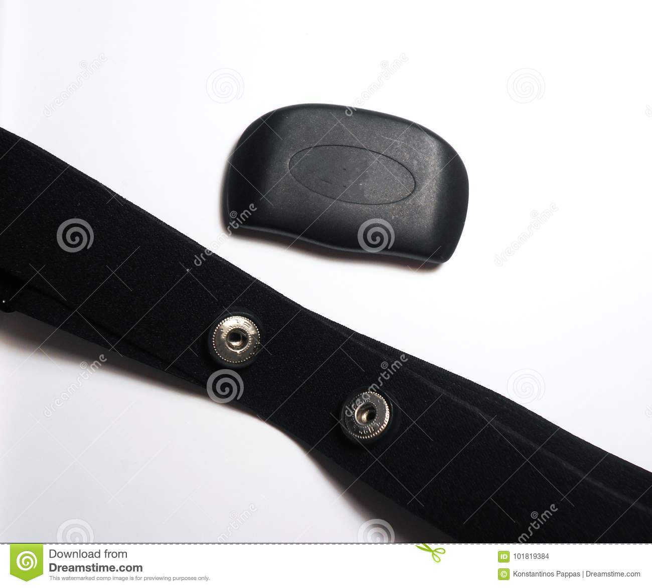 Heart Rate Monitor Isolated Stock Photo - Image of isolated