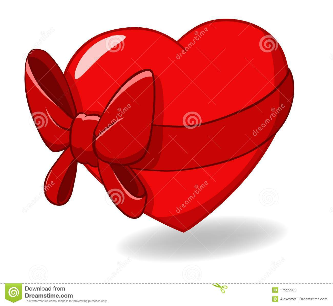 It is an image of Clever Hearts With Bows
