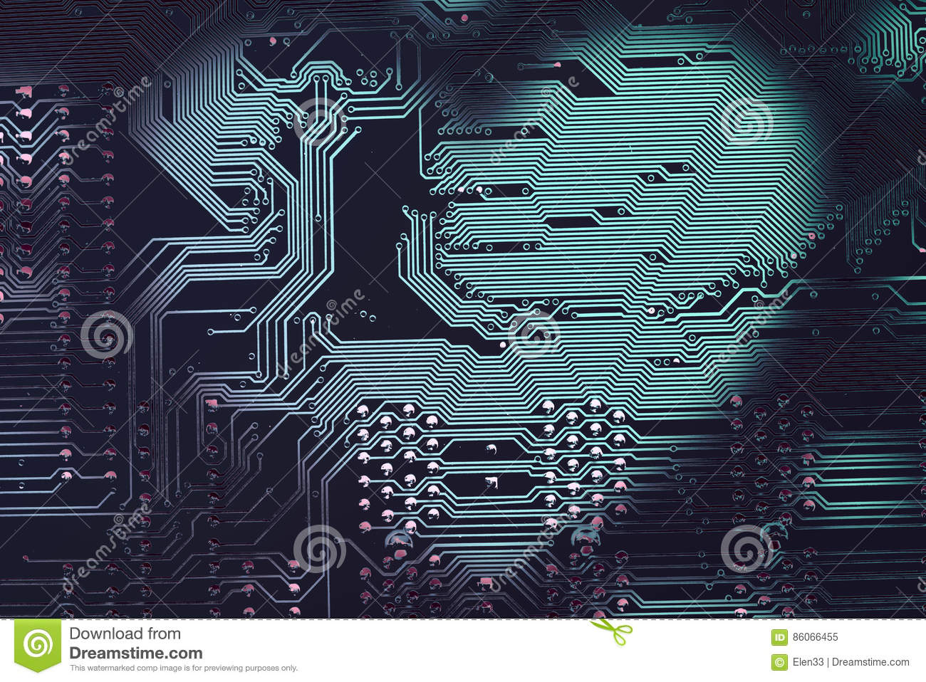 Heart Shape Frame On A Printed Circuit Board Stock Image Of Pcb The Printedcircuitboard 3d Royalty Free Photography Photo