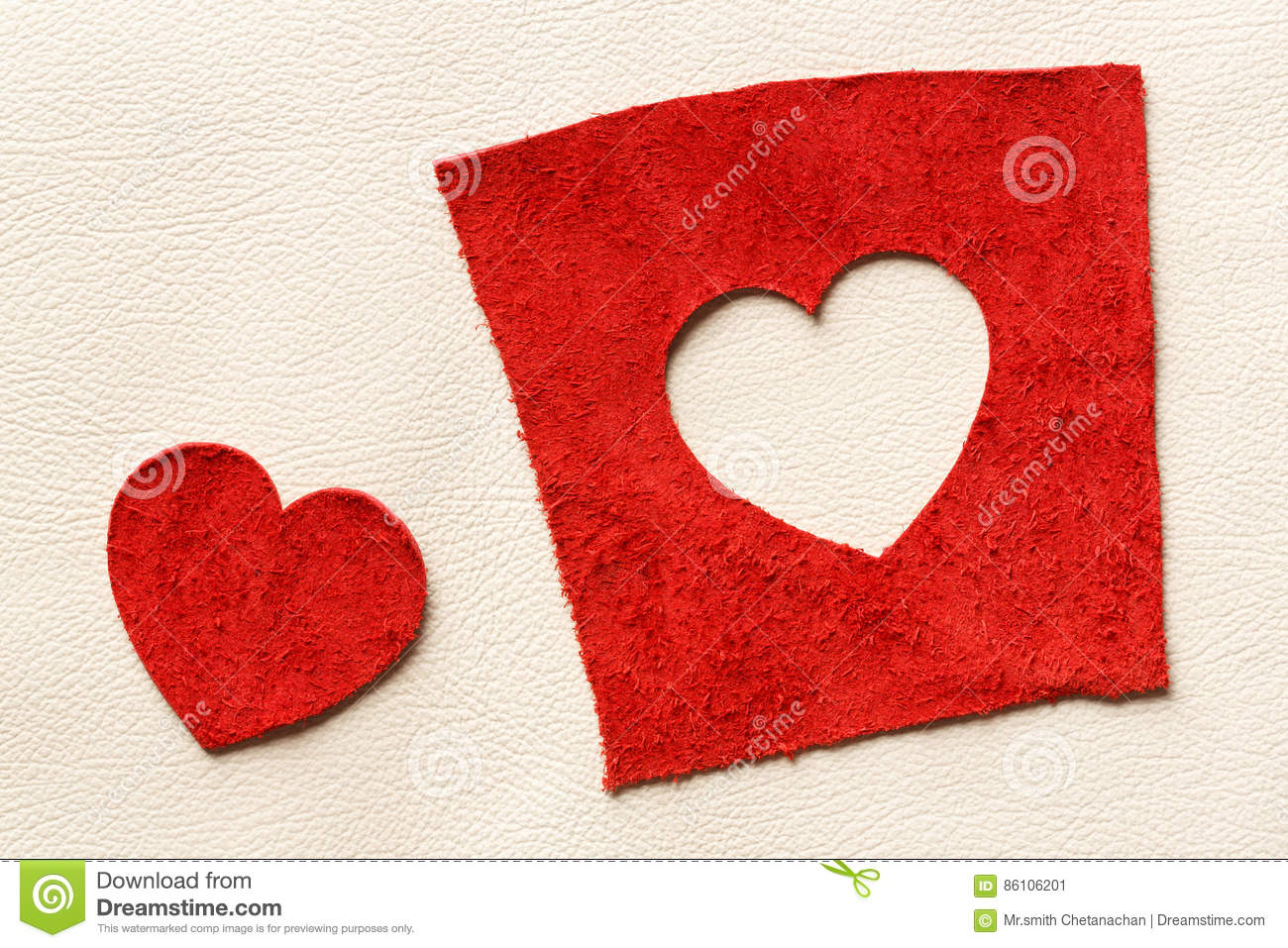 2304945e02a Heart shape leather stock image. Image of decoration - 86106201