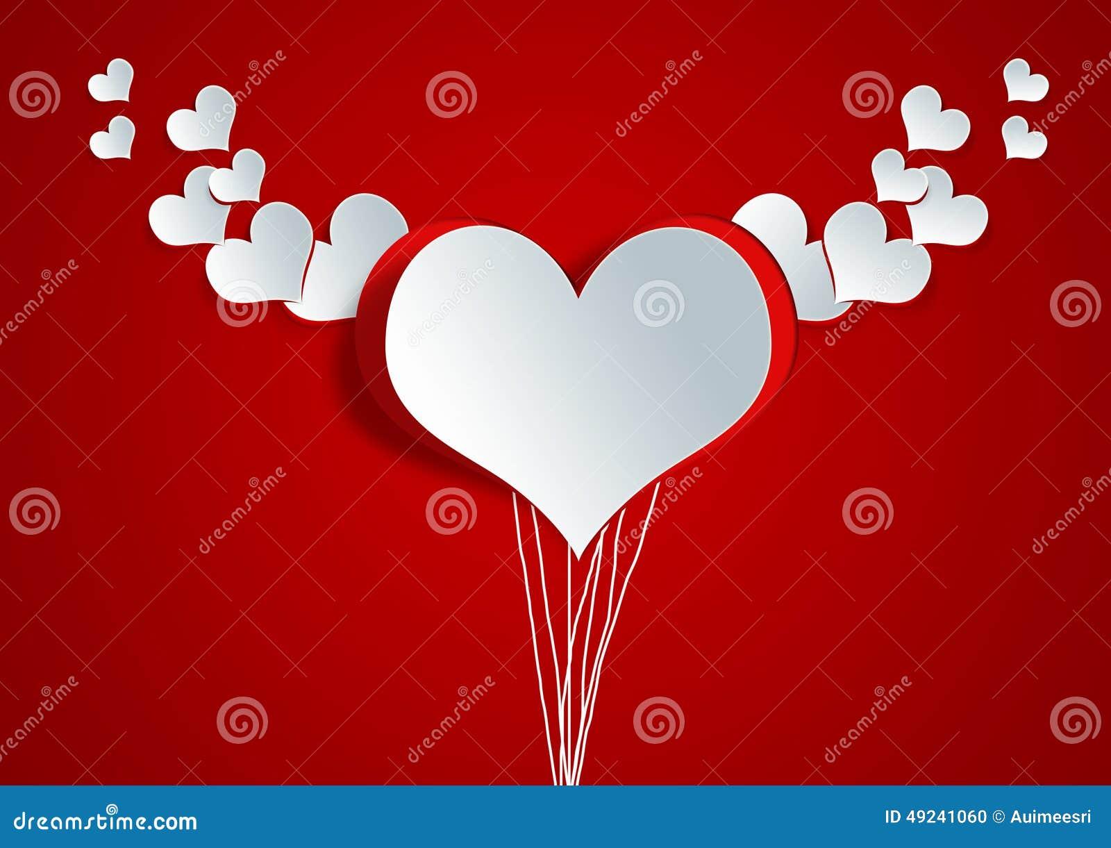 Heart shape on paper craft stock illustration illustration of heart shape on paper craft blank valentine jeuxipadfo Images