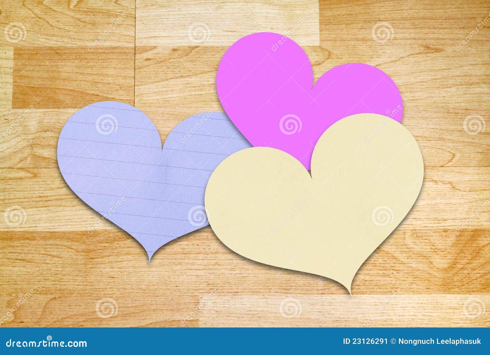 heart shape paper for valentine 39 s day stock image image. Black Bedroom Furniture Sets. Home Design Ideas