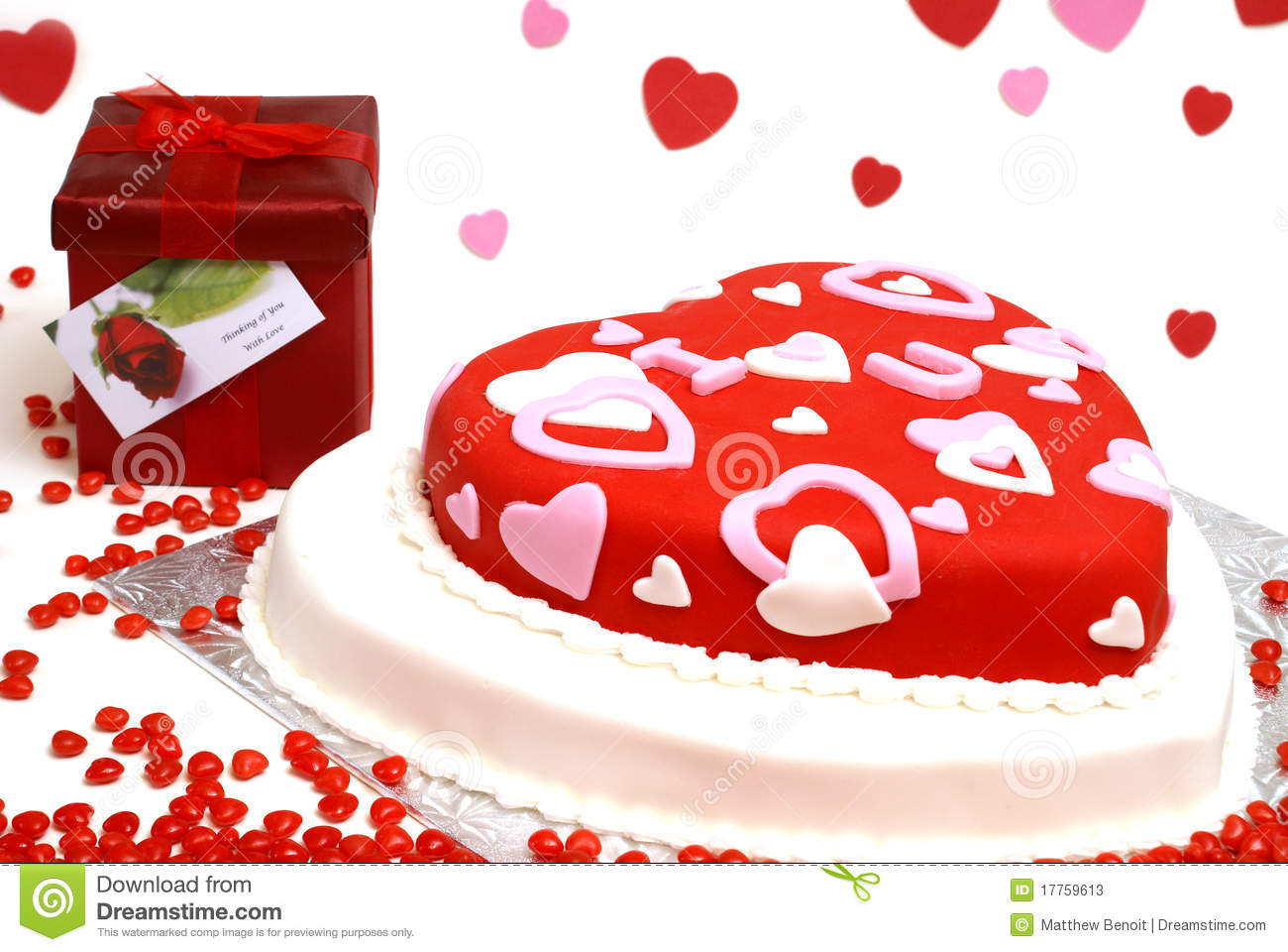 Heart Shaped Cake Stock Photos : Heart Shaped Cake Stock Photos - Image: 17759613