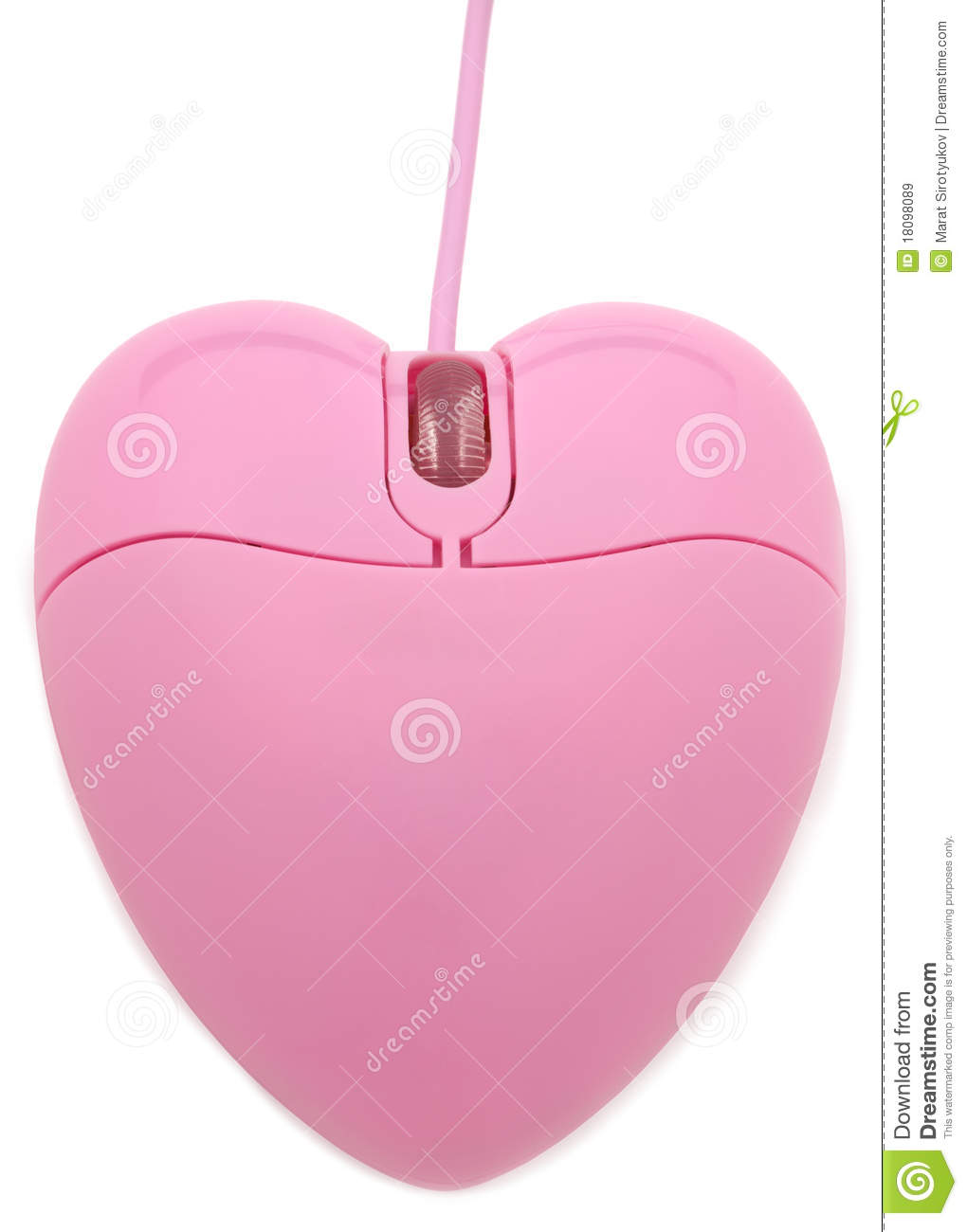091a26e5bd3 Heart-Shaped Computer Mouse Stock Image - Image of cable