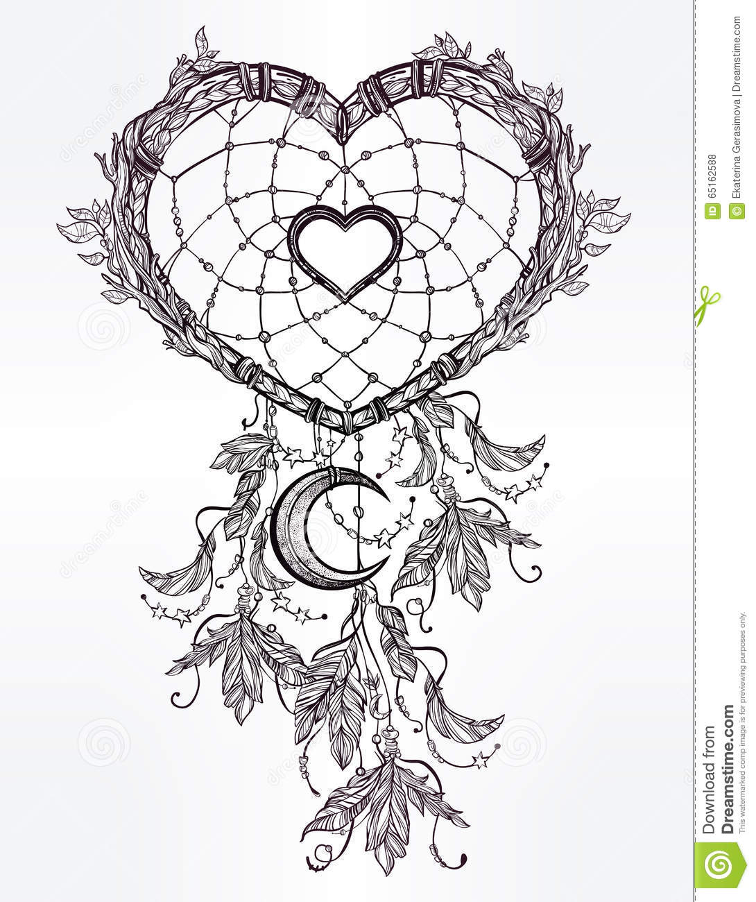 heart shaped dream catcher moon hand drawn romantic drawing feathers vector illustration ethnic tattoo design 65162588 also with printable boho coloring pages 1 on printable boho coloring pages besides printable boho coloring pages 2 on printable boho coloring pages also with printable boho coloring pages 3 on printable boho coloring pages also printable boho coloring pages 4 on printable boho coloring pages
