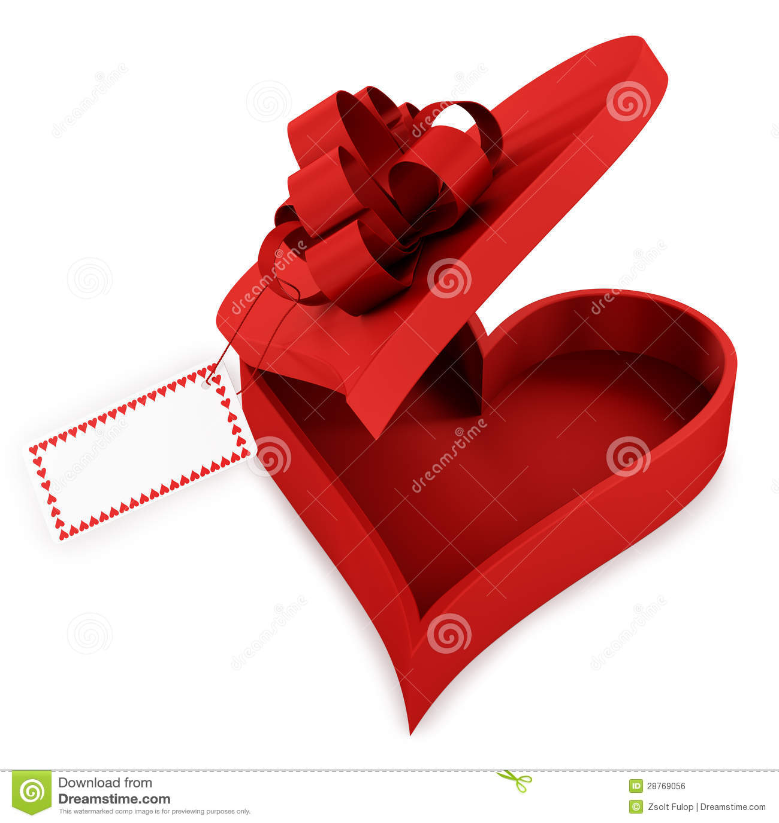 Heart Shaped Gift Box Royalty Free Stock Image - Image: 28769056