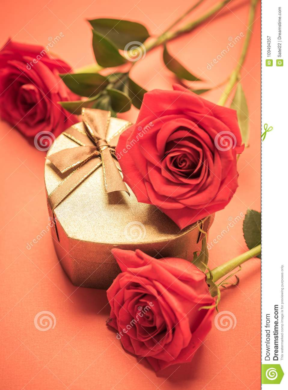 A Valentines Day Or Wedding Gift Background Stock Image Image Of