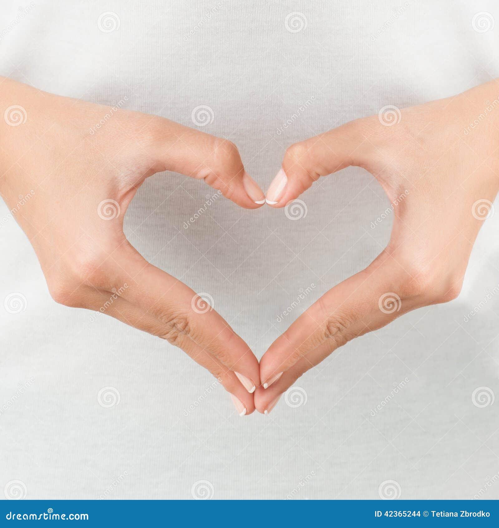 Heart shaped hands stock photo. Image of harmony, healthy ...