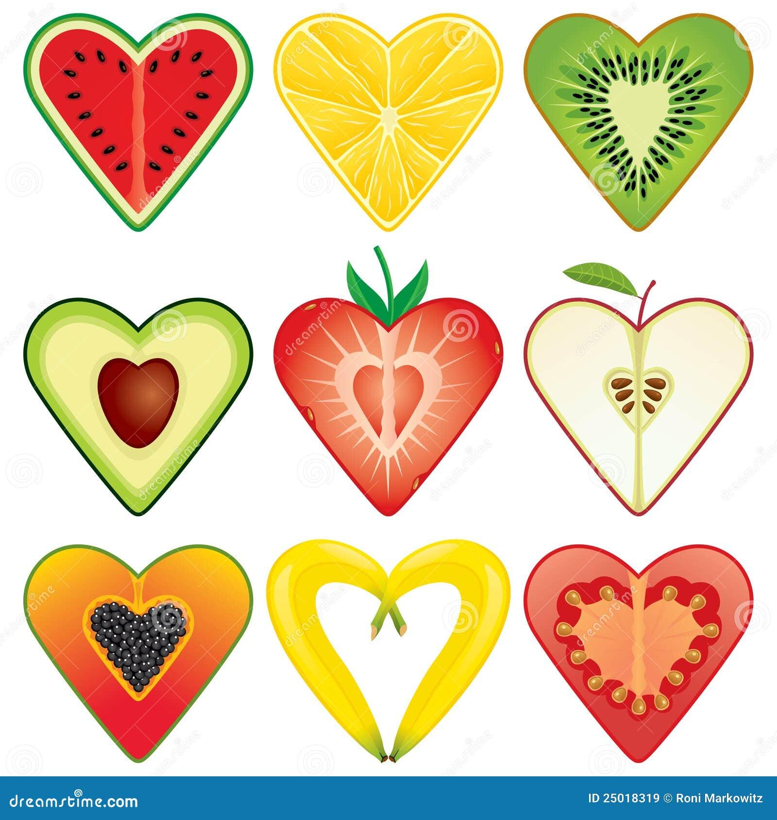 Healthy Heart Shaped Food