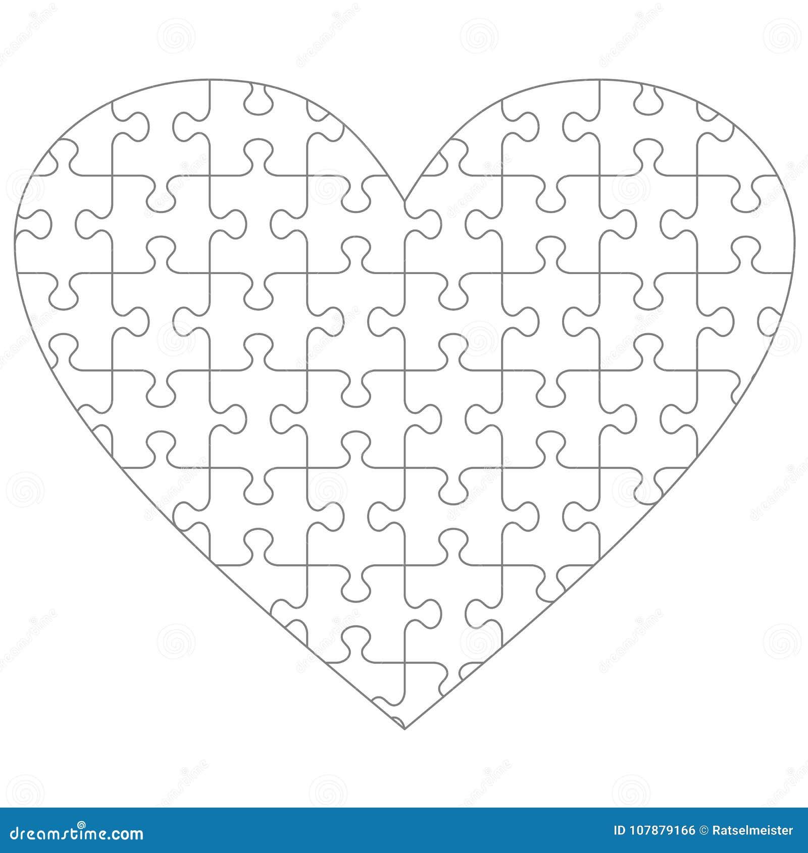 shape puzzle coloring pages - photo#38