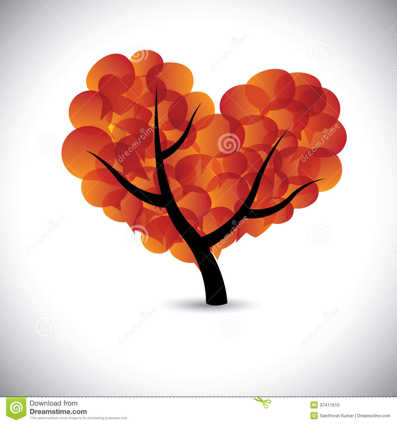 heart shaped love tree with speech bubbles icons vector clip art emotions faces clip art emotions faces