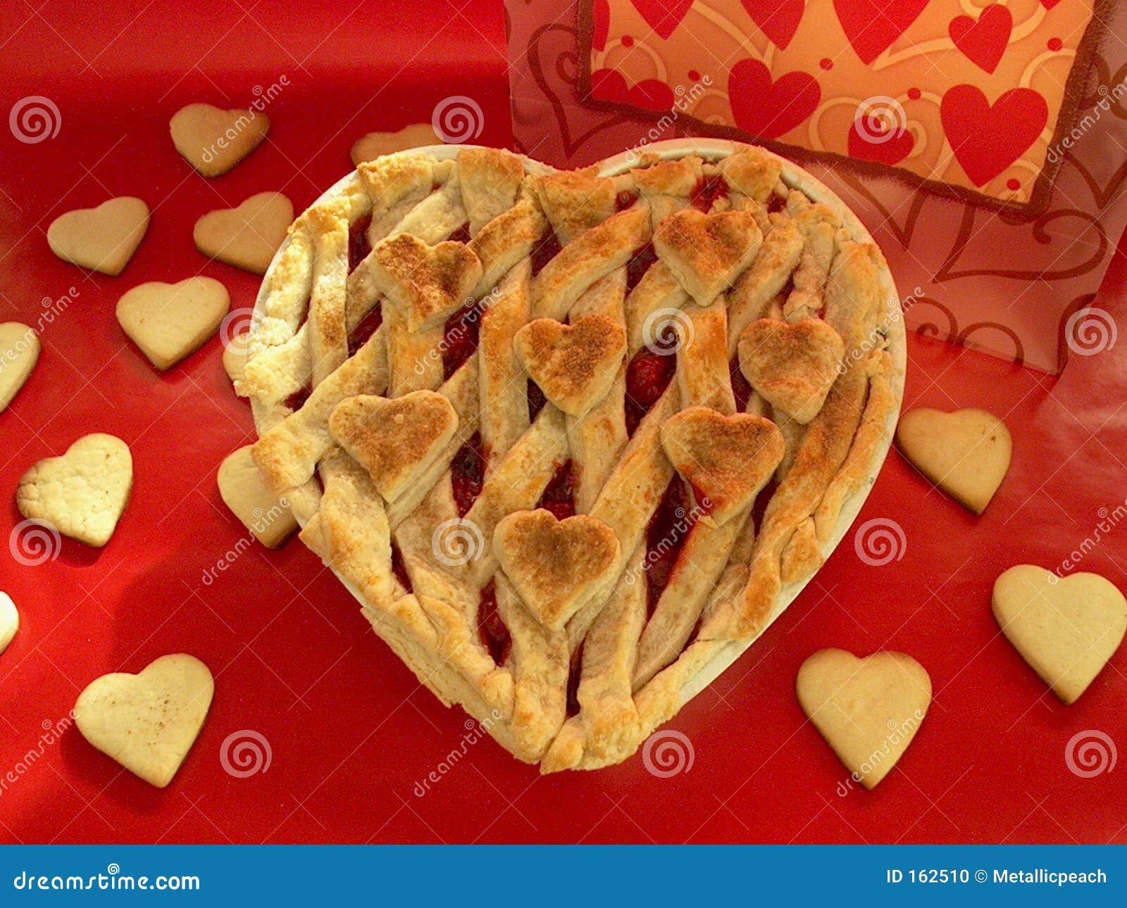 Heart-Shaped Pie