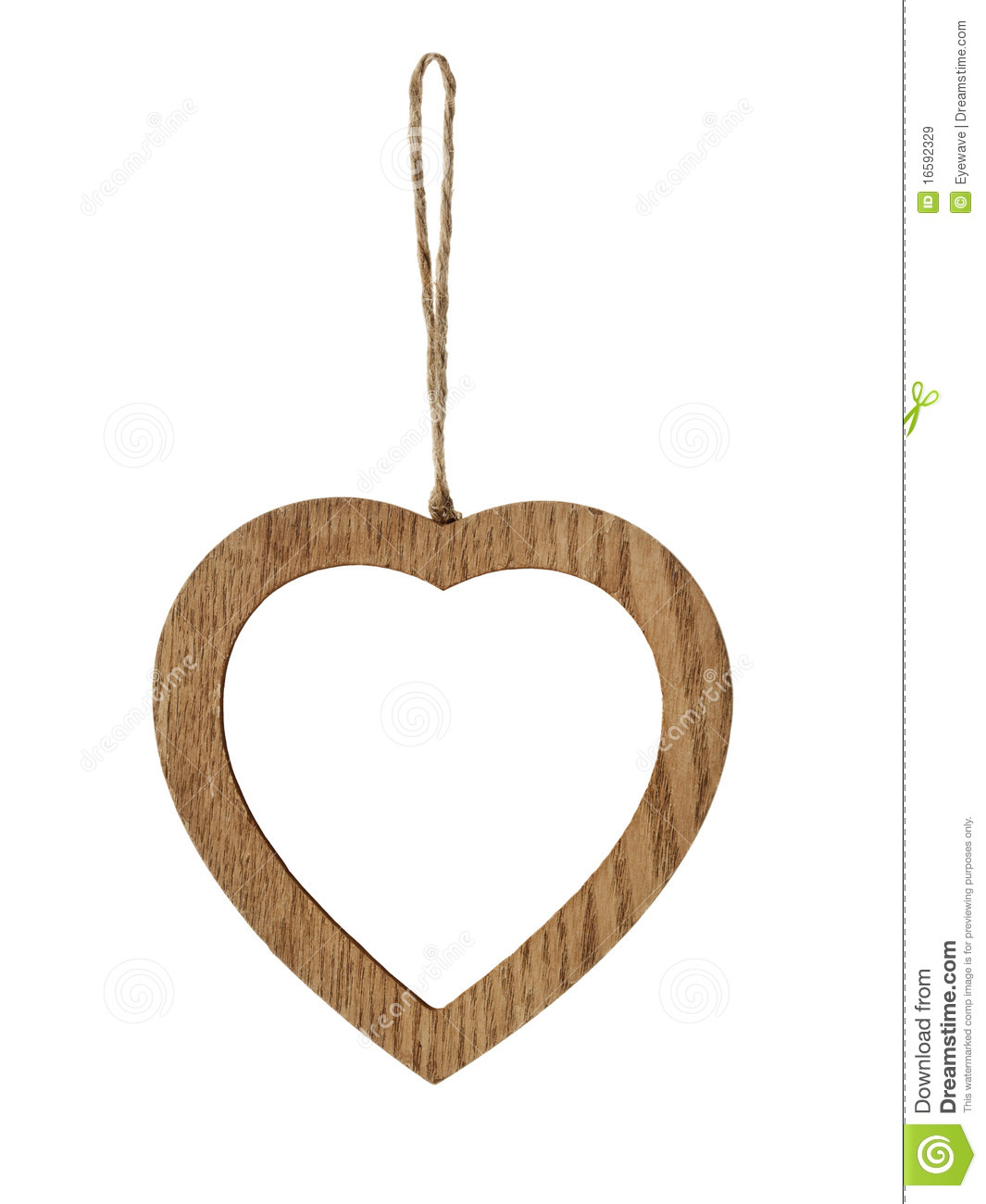 Heart-shaped Wooden Picture Frame Royalty Free Stock Images - Image ...