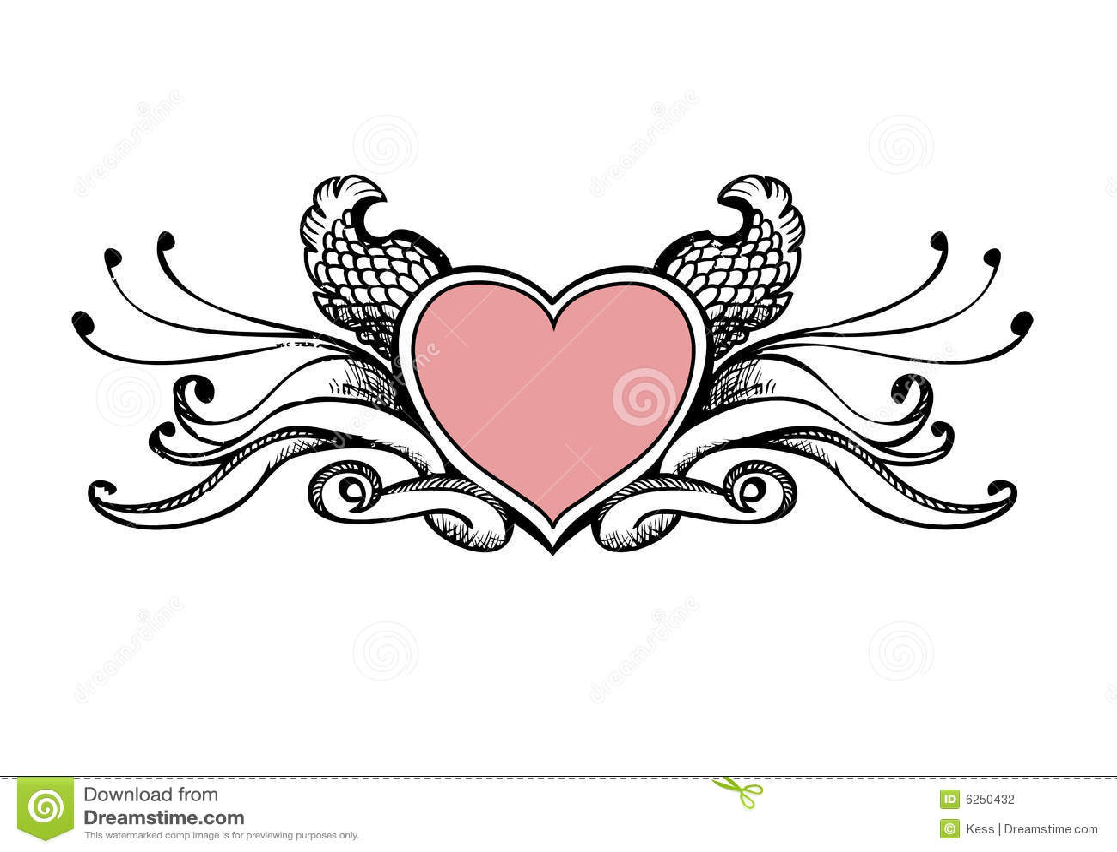 Heart Sketch Stock Pho...