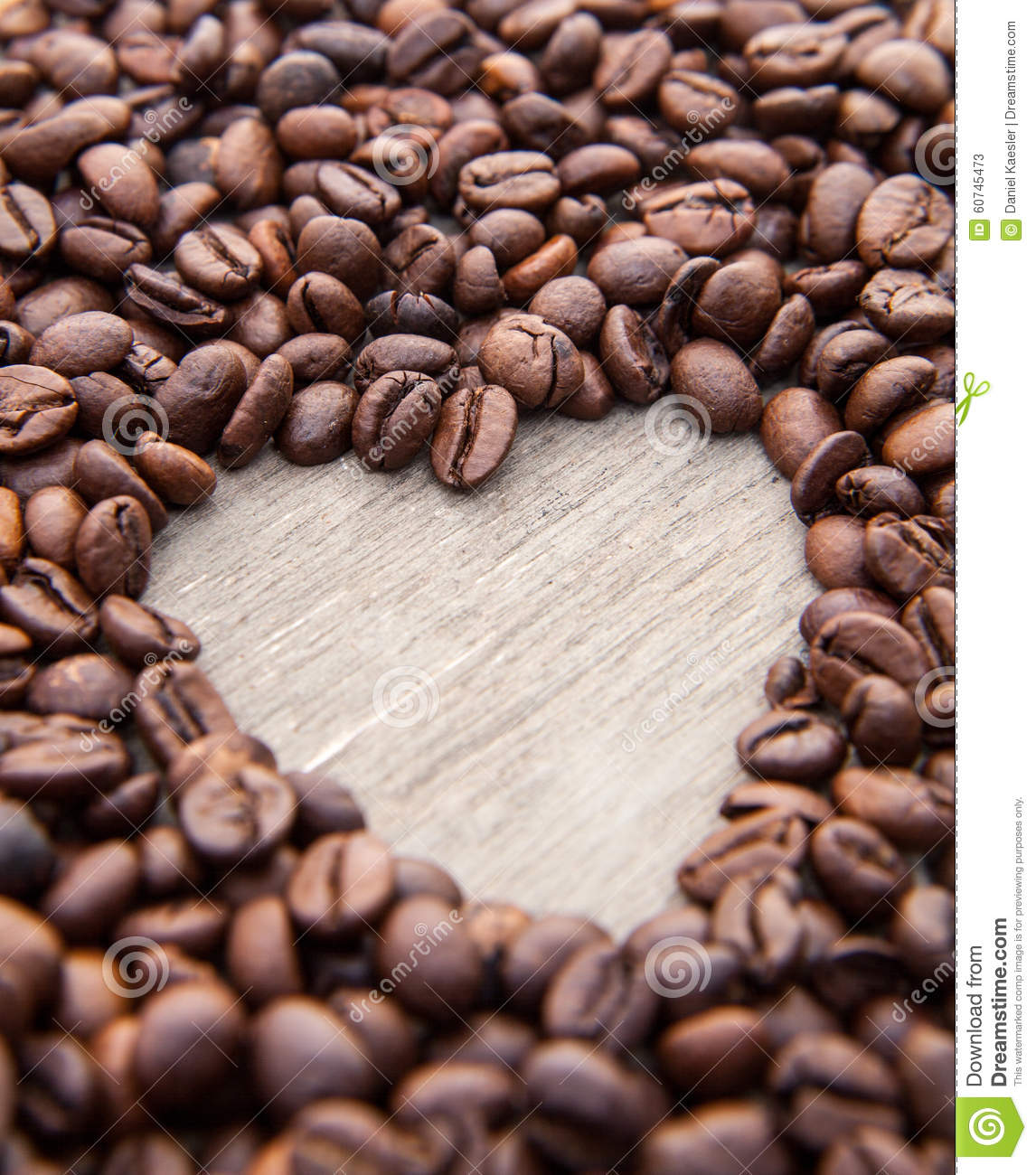 Heart Symbol Within Coffee Beans Stock Image Image Of Symbol Love