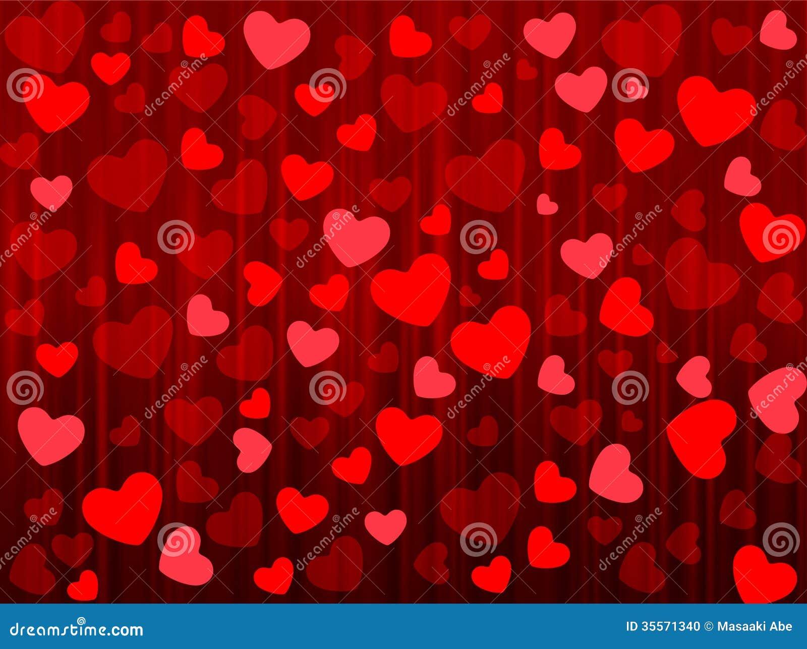 Heart Valentine Background Stock Photo - Image: 35571340