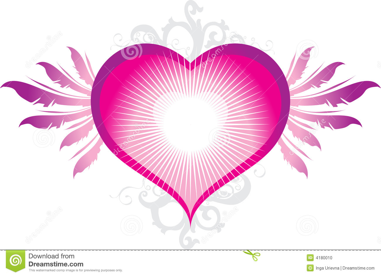 latest cool pink heart - photo #28