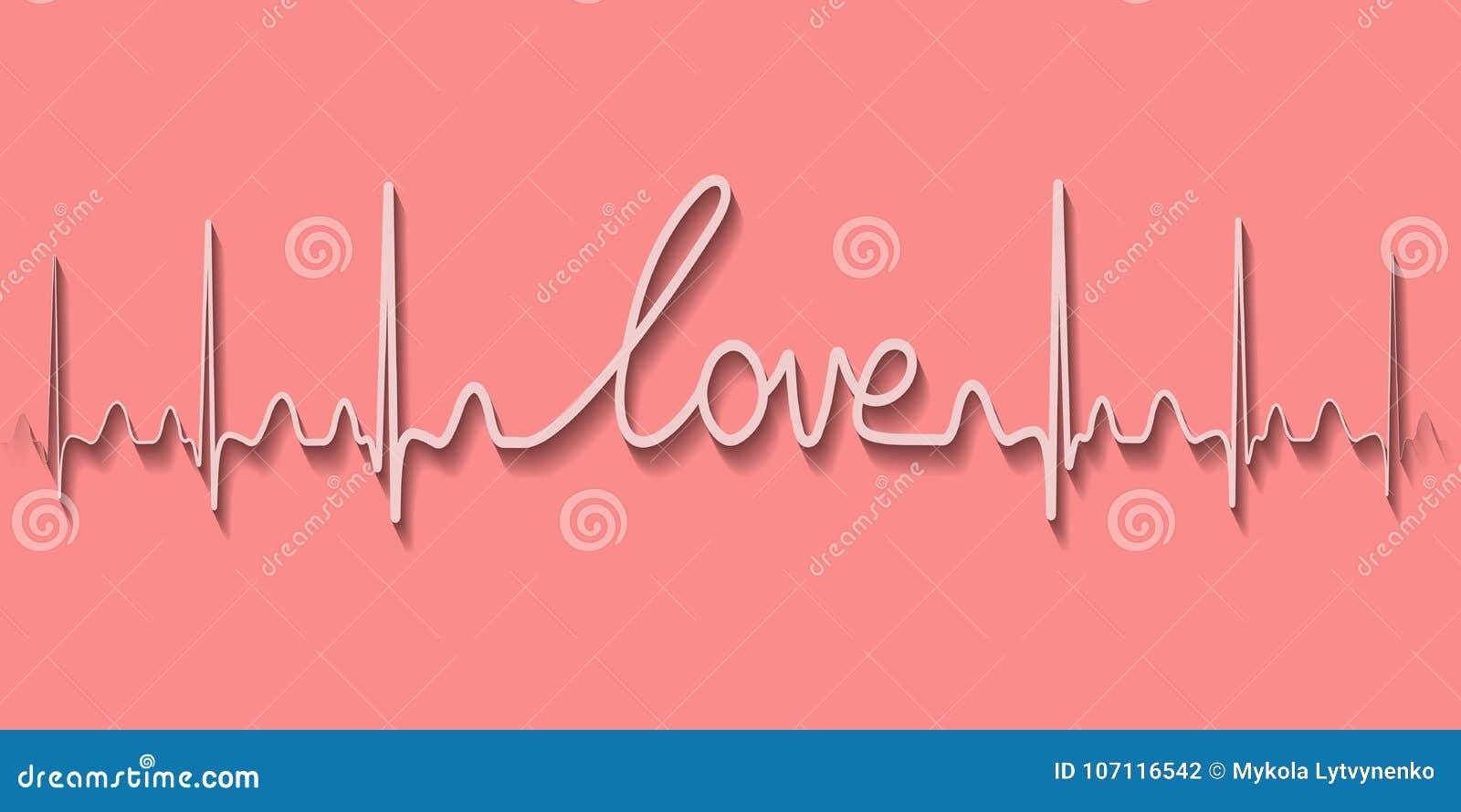 Love air romantic inscription greeting card stock illustration
