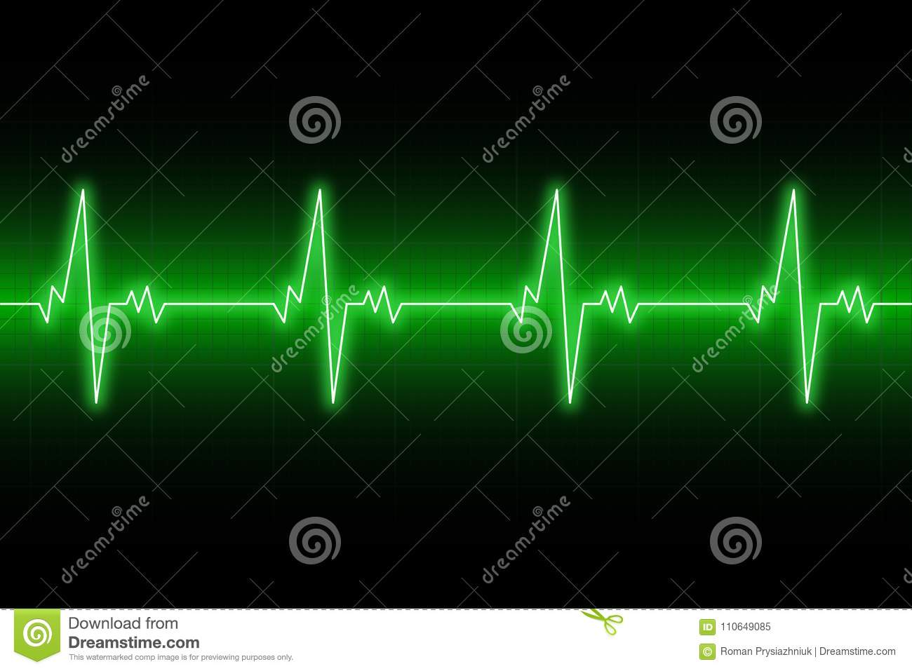Electrocardiogram Cartoons Illustrations Amp Vector Stock
