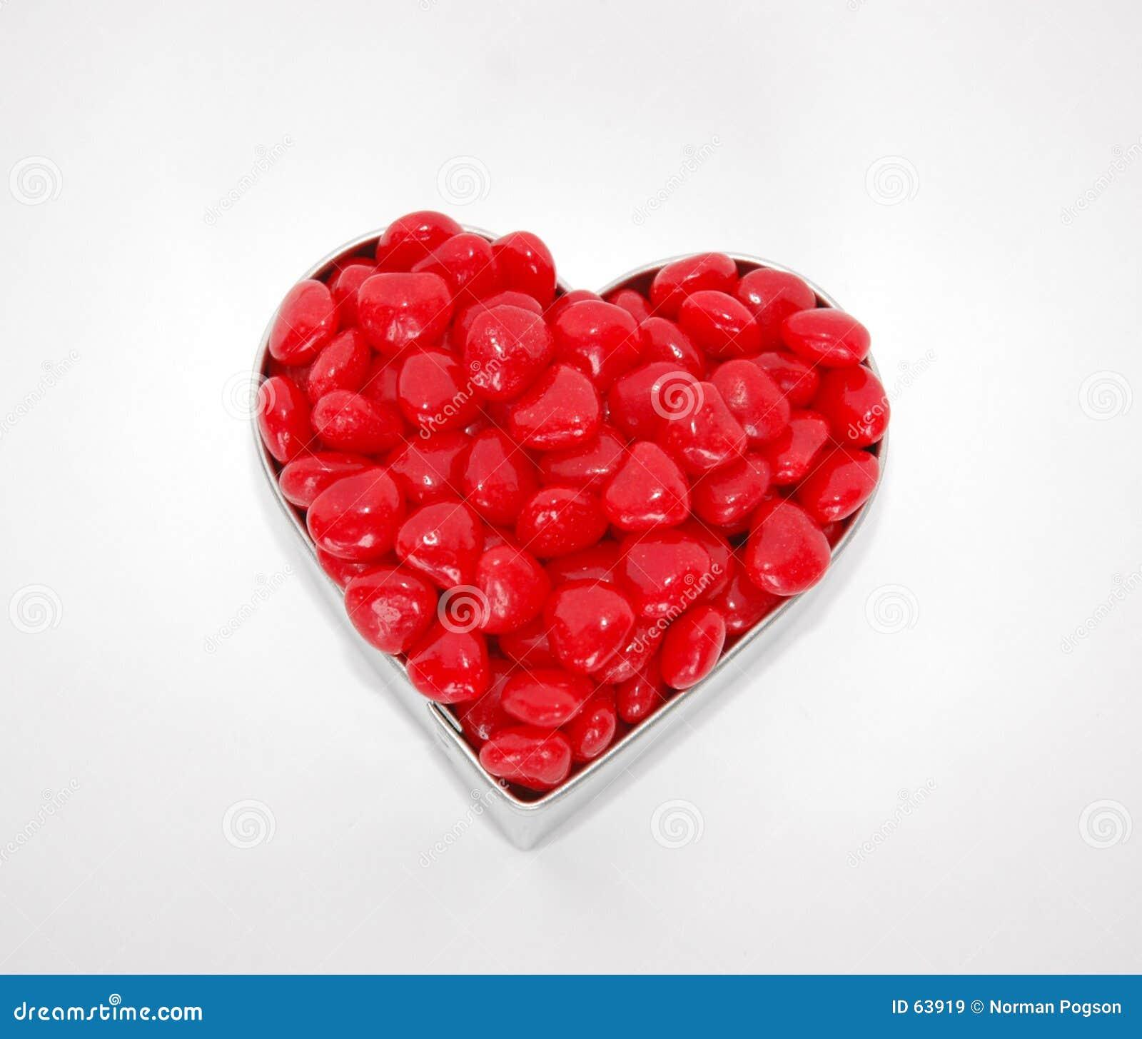Download Heartfull image stock. Image du forme, sucrerie, jour, rouge - 63919