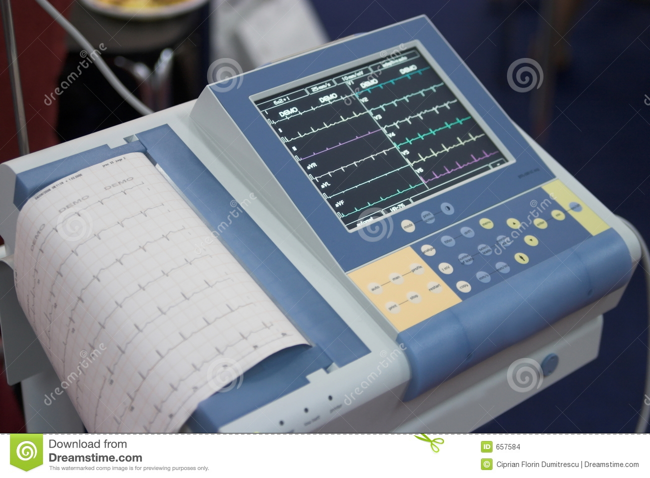 Cardiovascular Monitoring System : Hearth monitoring system stock images image