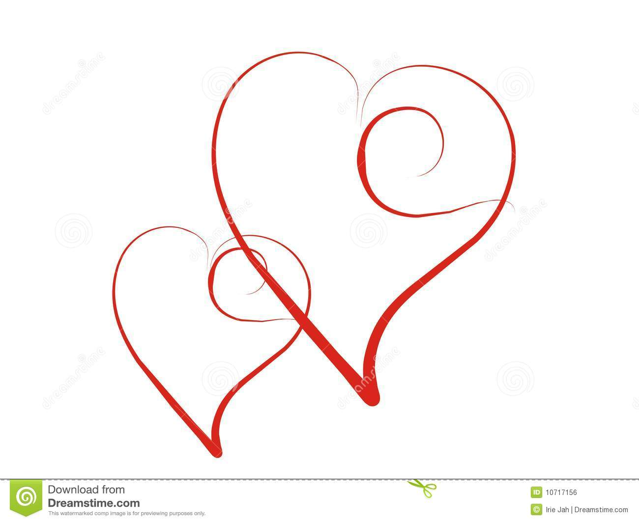 Hearts Royalty Free Stock Image - Image: 10717156
