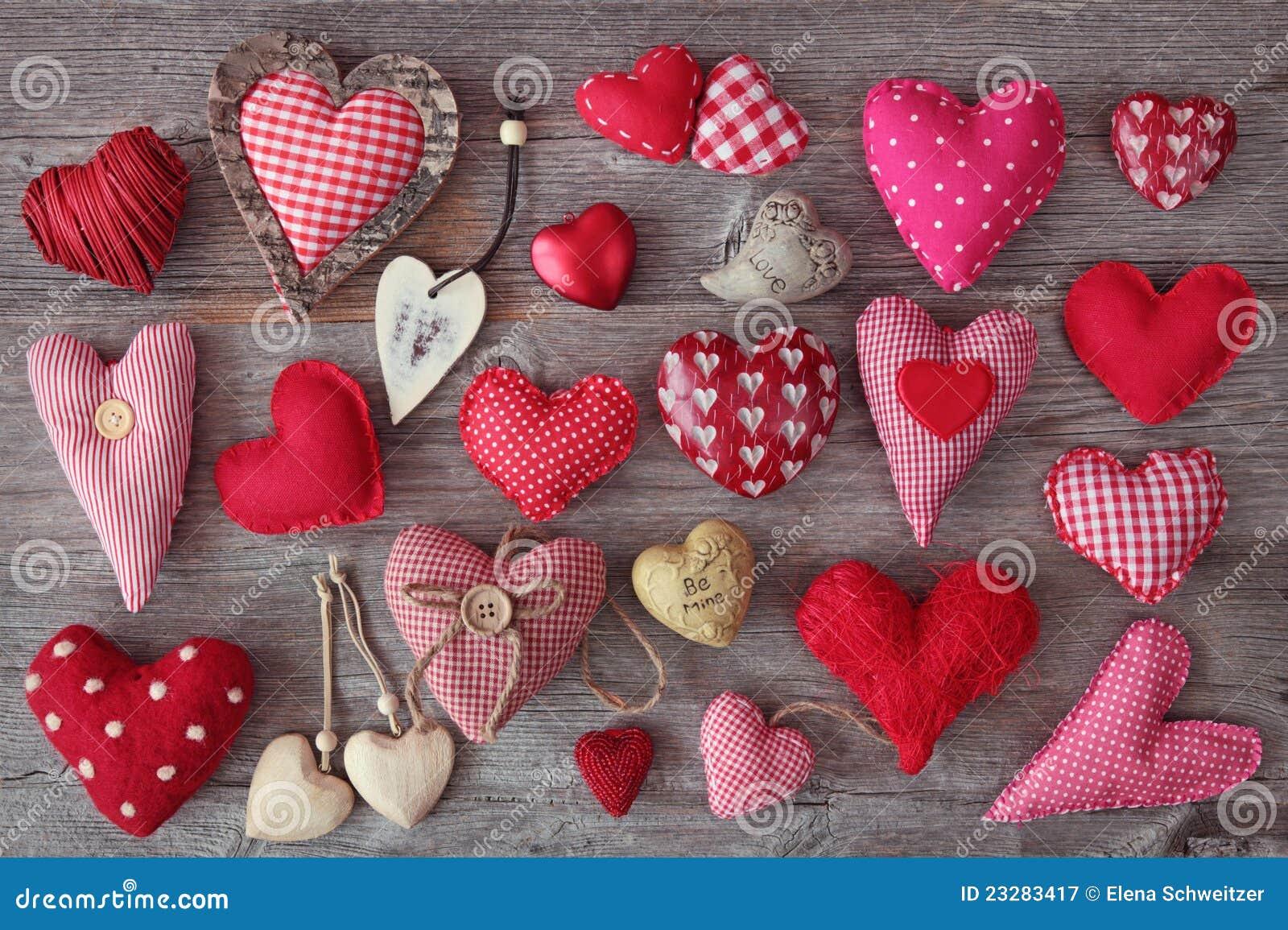 Download Hearts stock image. Image of retro, grey, symbol, shape - 23283417