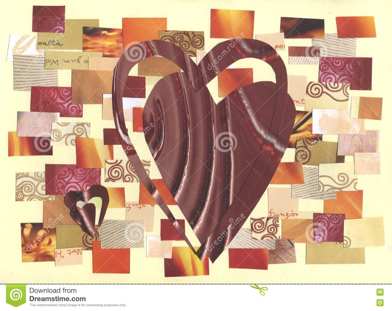 Hearts - collage