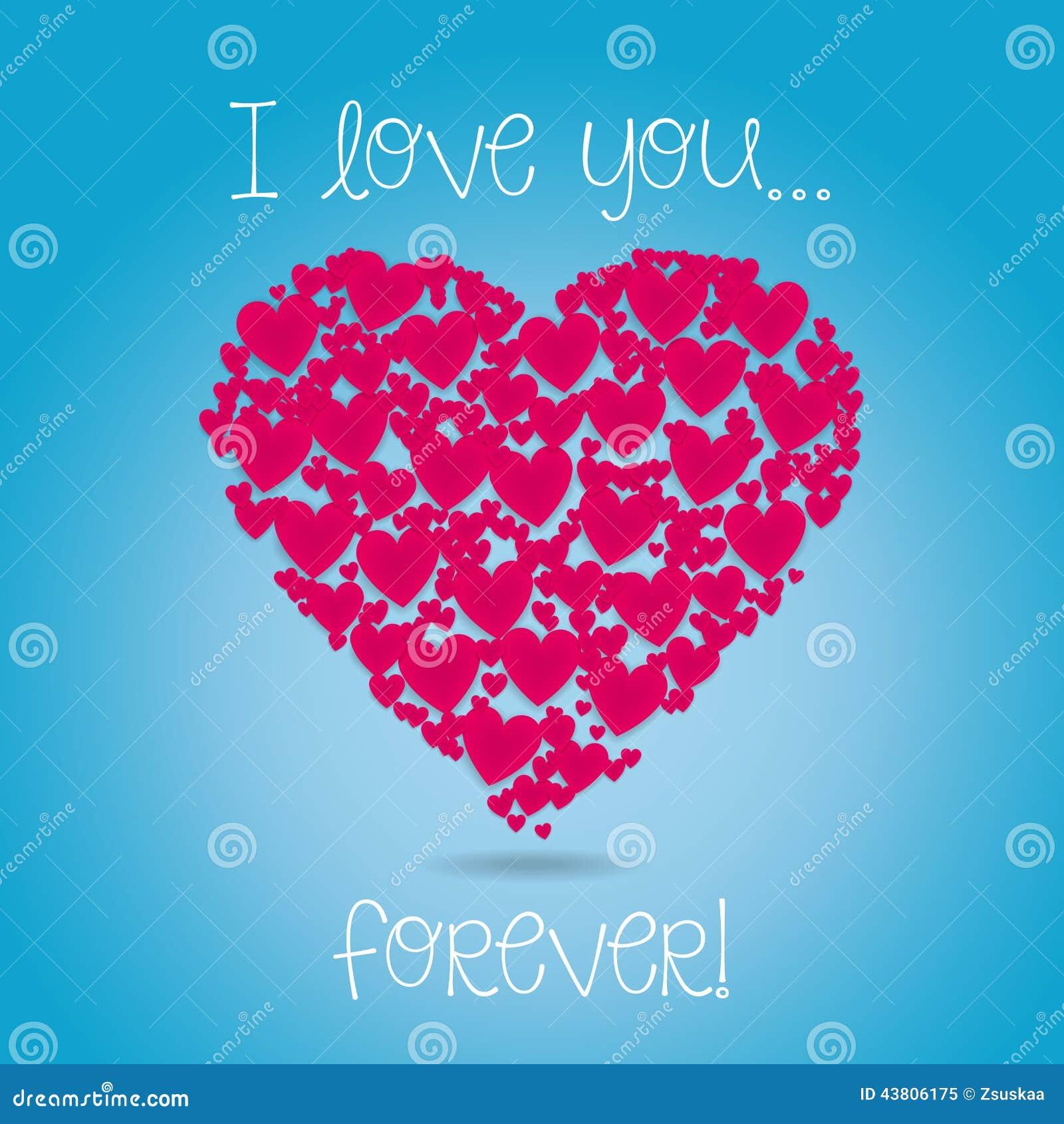 Hearts Stock Vector Illustration Of Truelove Sizes 43806175