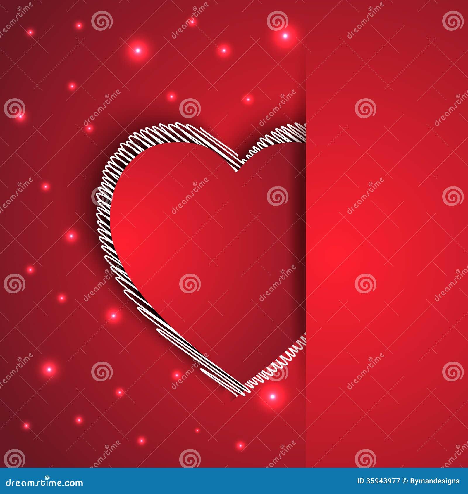 hearts shape romantic greeting card stock vector illustration of