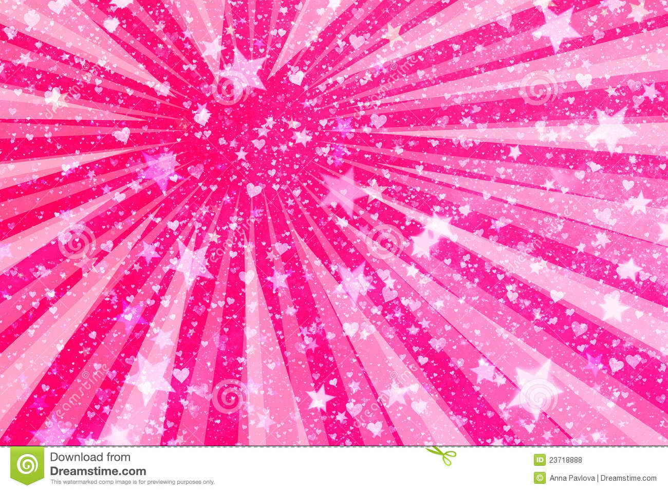 Hearts And Stars Background Royalty Free Stock Photos ...