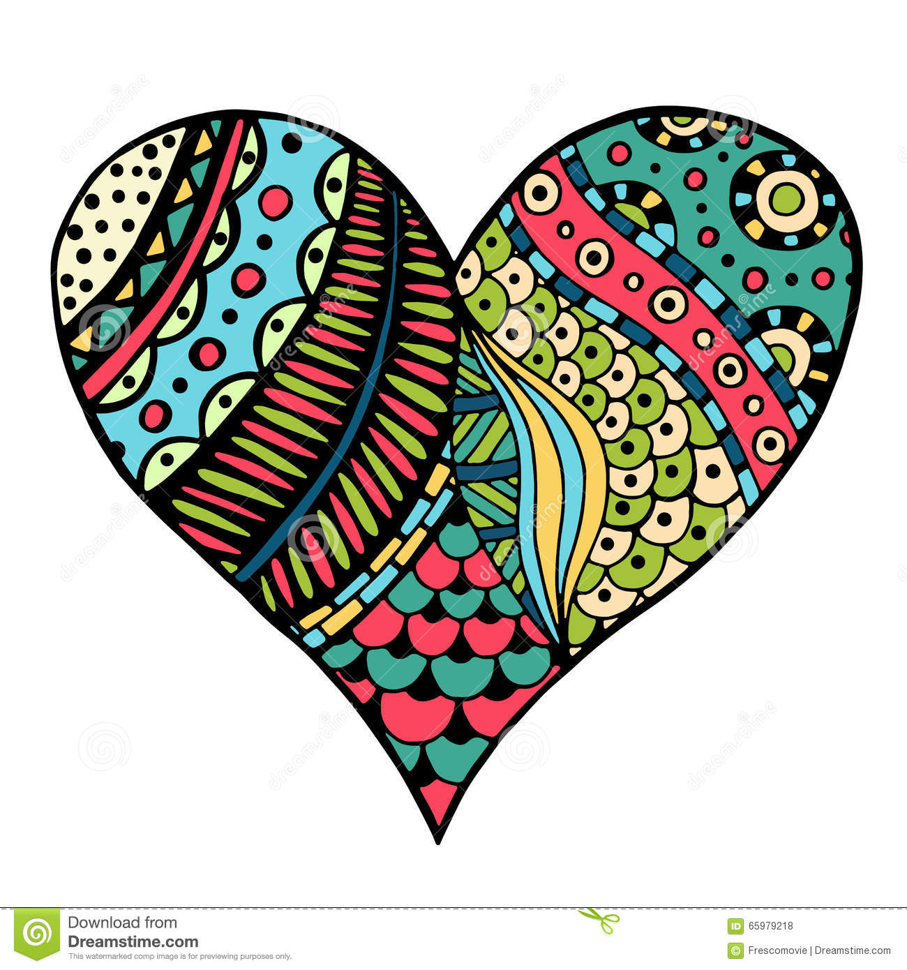 509 best images about Zendoodle hearts on Pinterest ... |Zentangle Heart Graphics