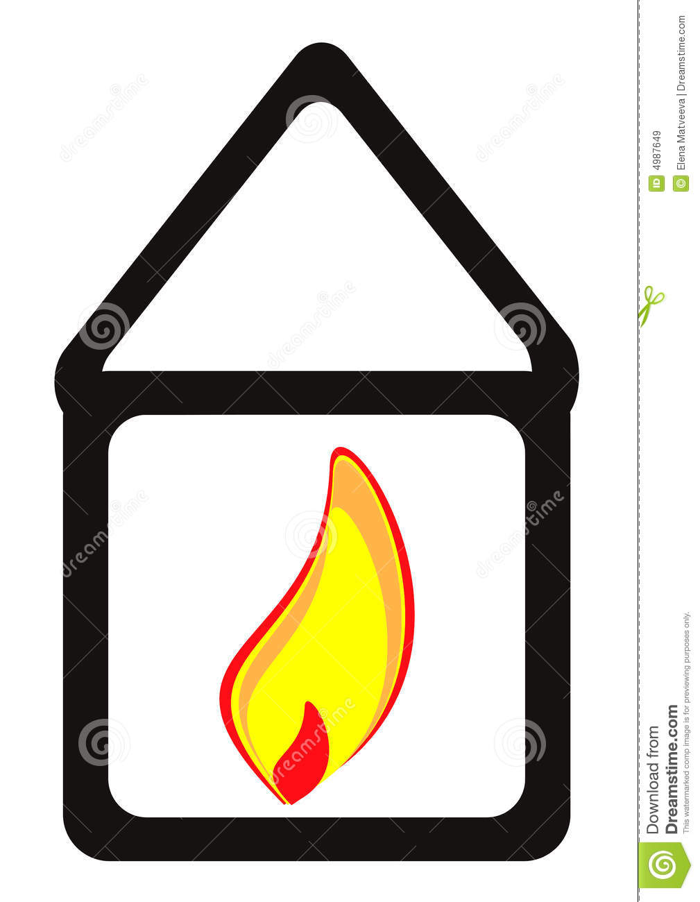 Heat In Each House Royalty Free Stock Images Image 4987649