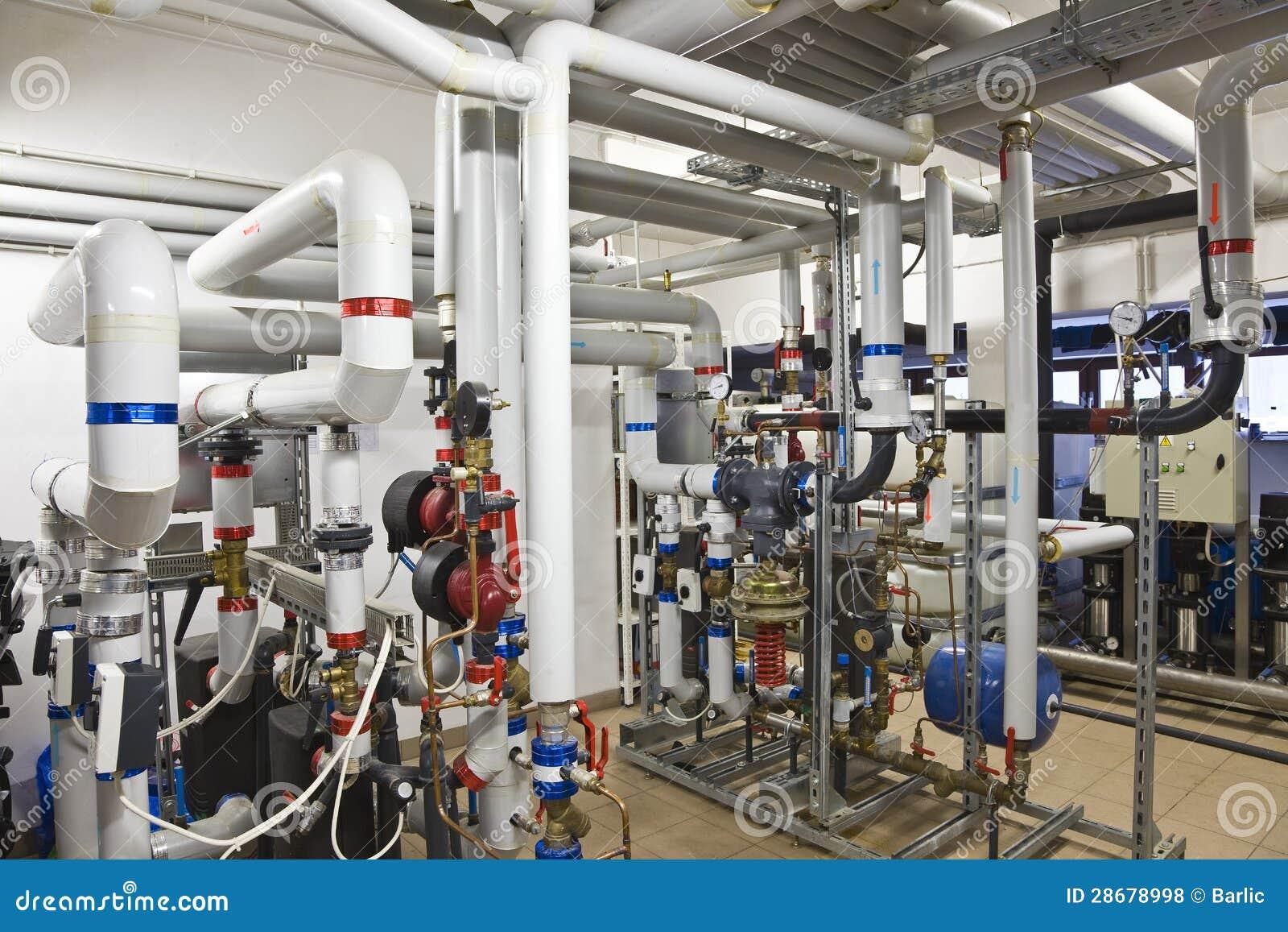 Heat Exchanger Plant Stock Photo Image Of Metal