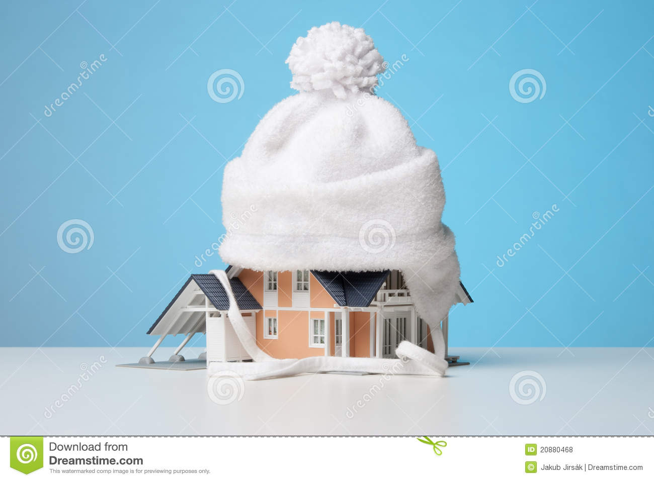Heat Insulation Of House Royalty Free Stock Photos Image