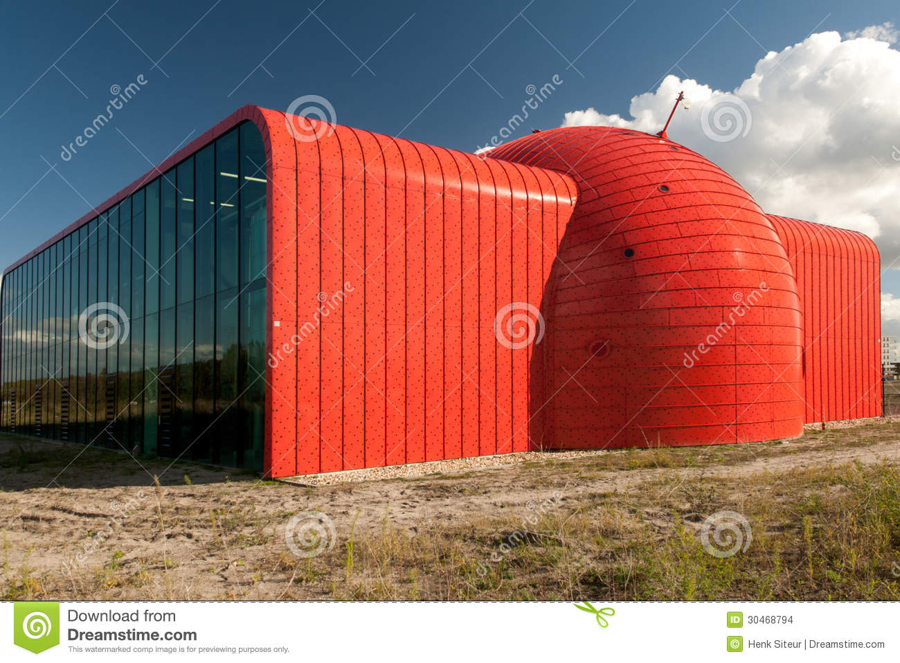 Heat transfer station in Almere, The Netherlands