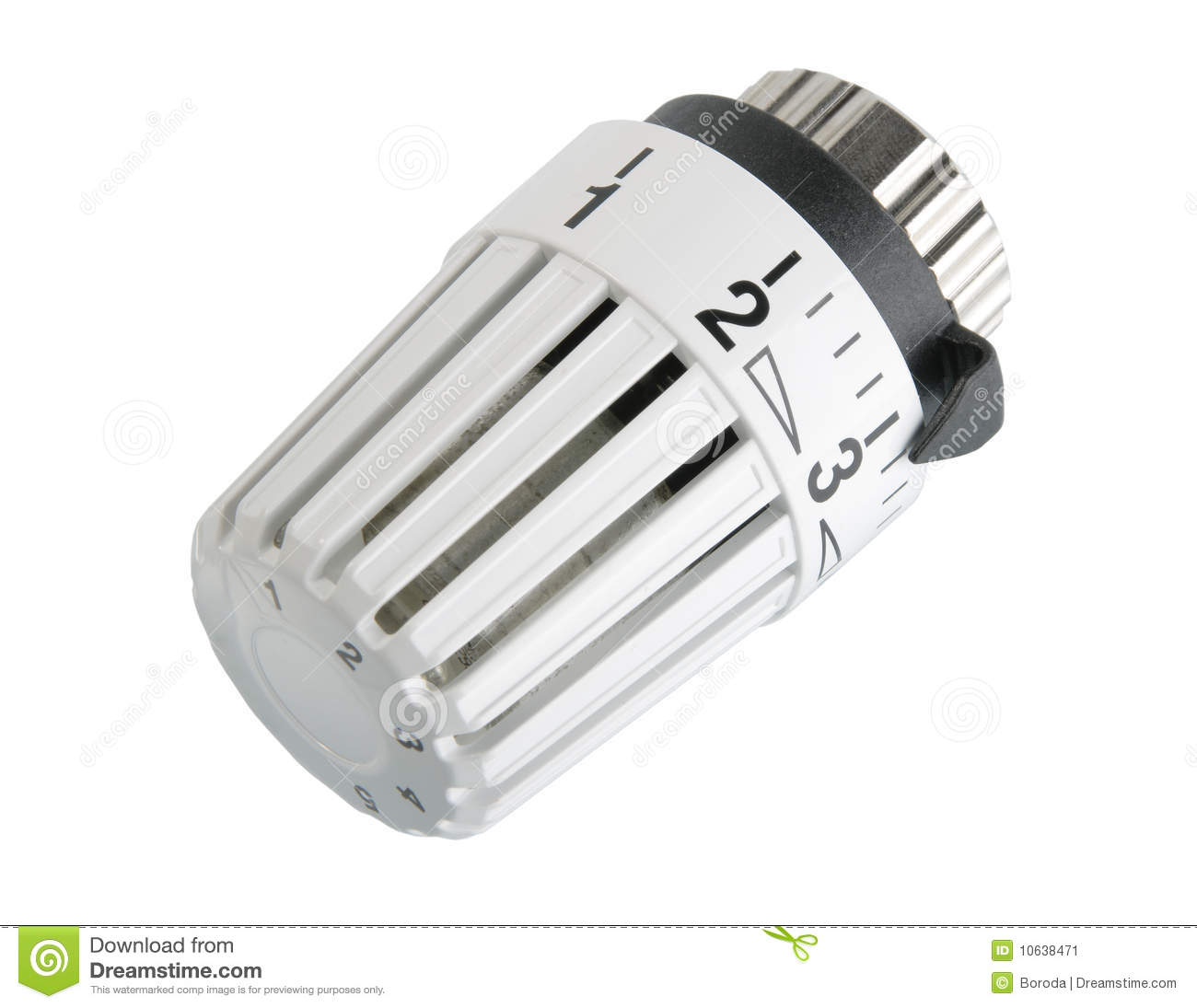 Water Heater Control Valve Heater Thermostat. Stock Image - Image: 10638471