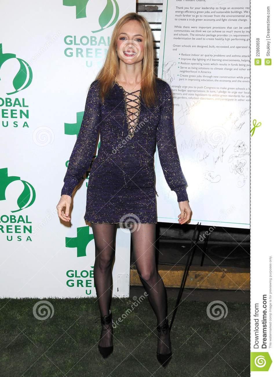 Heather graham stockings
