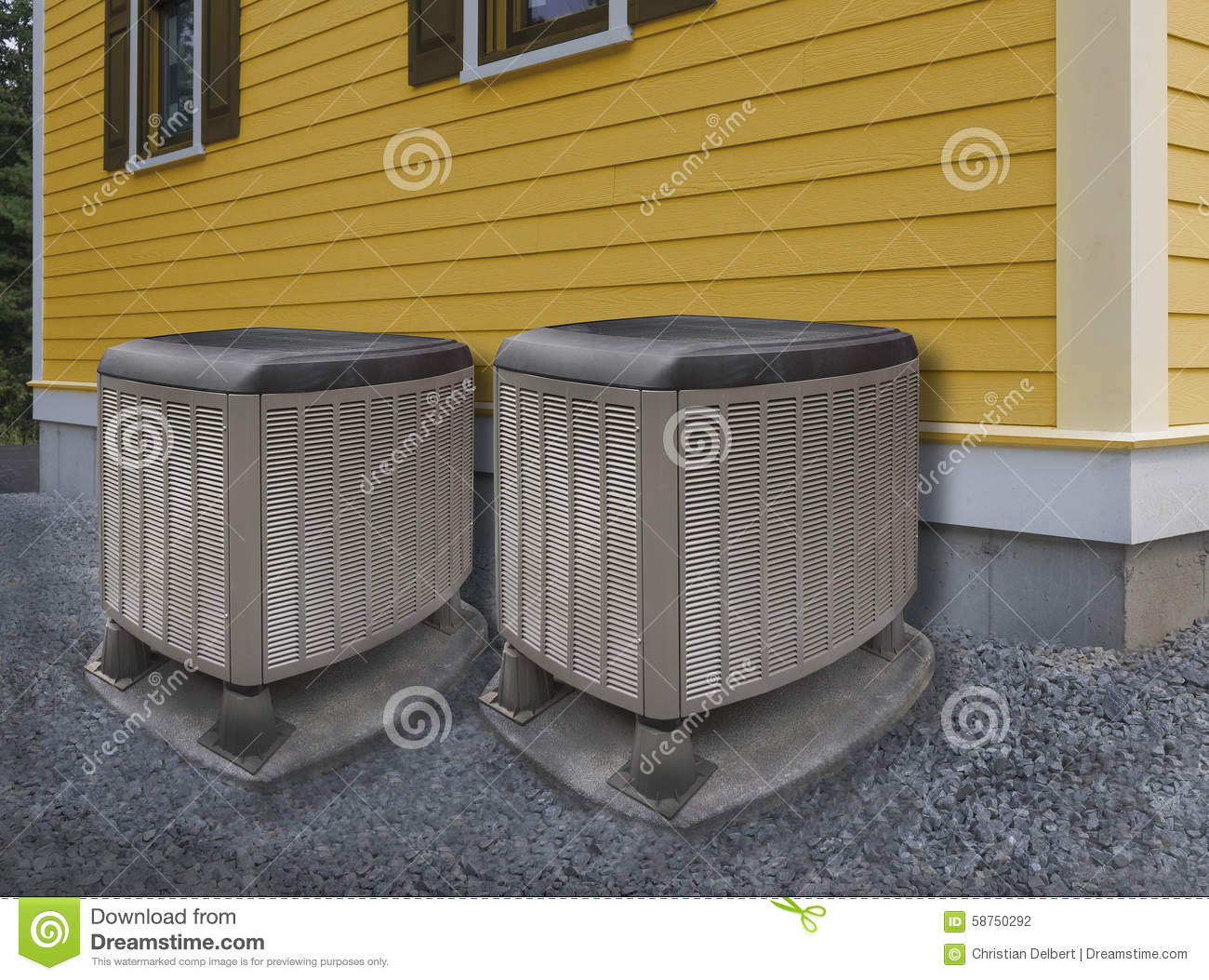 #94762D Heating And Air Conditioning Units Stock Photo Image  2017 13332 Outside Heating And Air Conditioning Unit photo with 1300x1053 px on helpvideos.info - Air Conditioners, Air Coolers and more