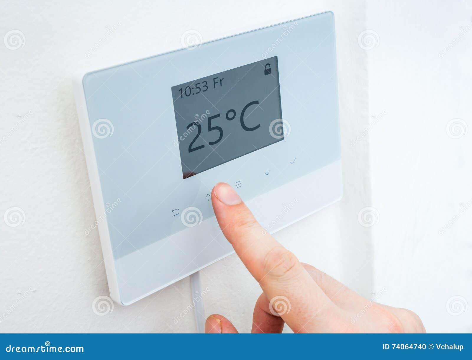 Central Heating Control Panel Stock Photo Cartoondealer