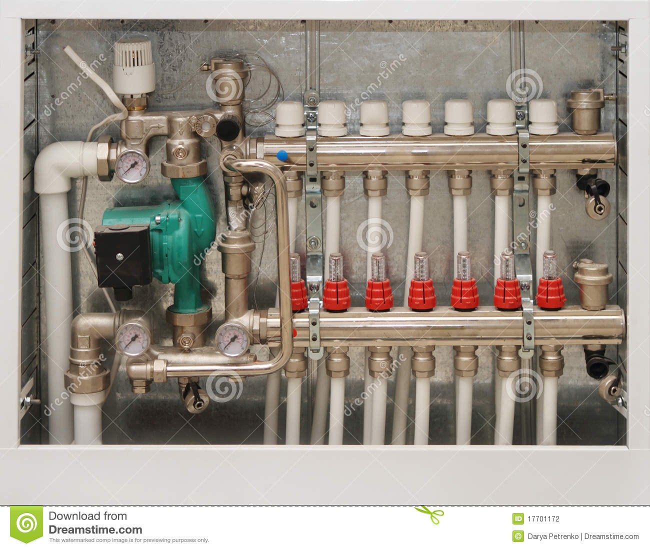 Heating System Of The House Stock Photography Image