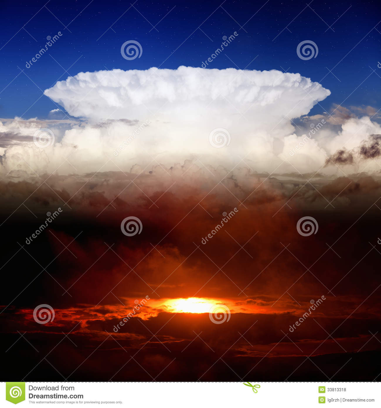blue sky red sunset white clouds essay Write one page essay answering the following: why does a blue sky have white clouds why do the clouds appear red at sunset.