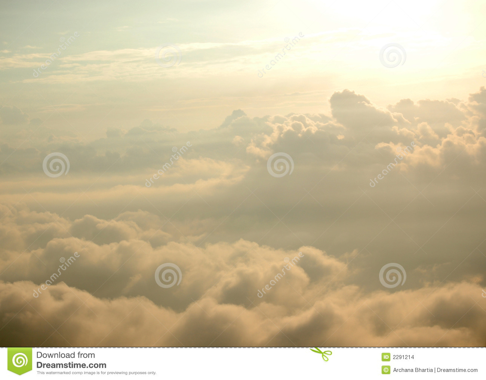 Heaven like skyscape