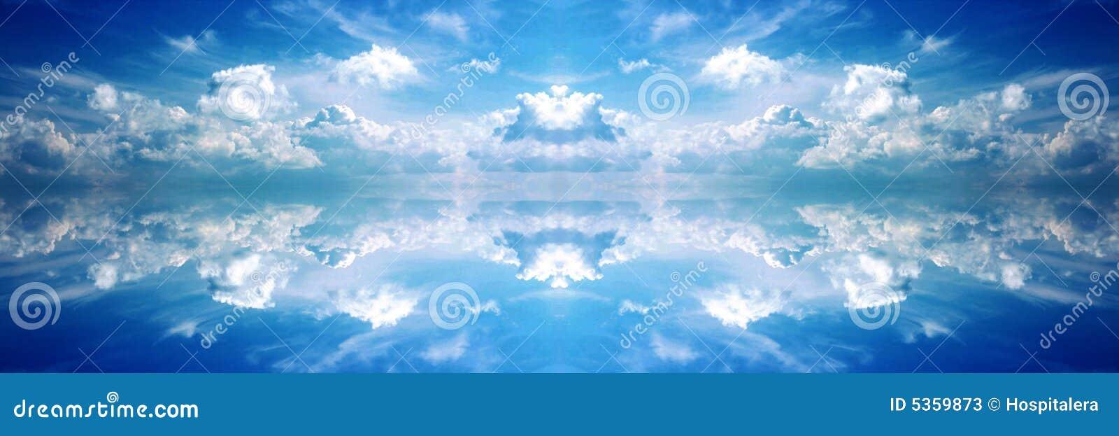 Heavenly Banner Dark 2 Stock Photos - Image: 5359873
