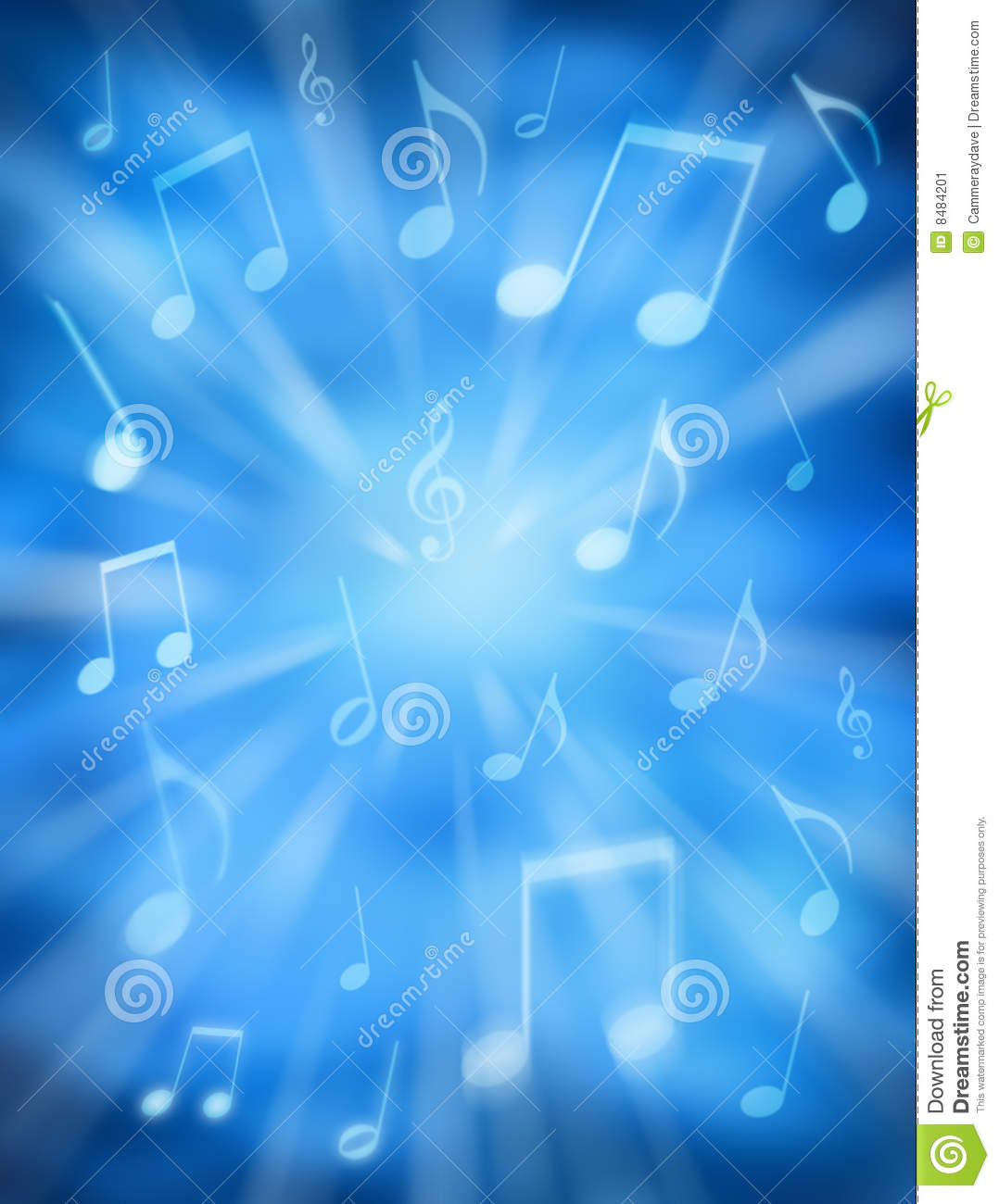 Heavenly Music Background