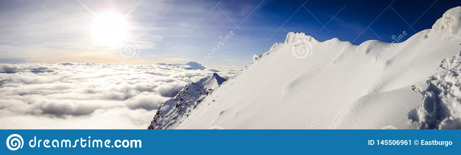 A Heavenly Panorama from a Bolivian Mountain Top